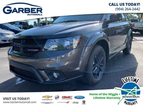 New 2019 Dodge Journey SE Blacktop package, 8.4 Radio screen""