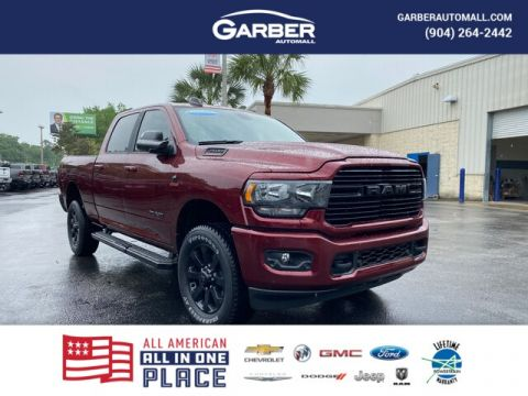 2020 Ram 2500 Big Horn 4x4, Night Edition, Nav With Navigation & 4WD