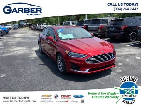 2019 Ford Fusion SEL With Navigation