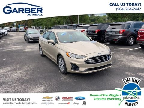 New 2019 Ford Fusion S, Bluetooth, Cruise Control FWD Sedan