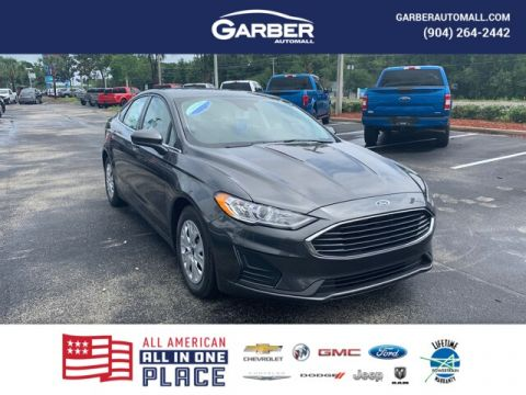 2020 Ford Fusion S With Navigation