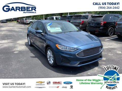 New 2019 Ford Fusion SE, Sync 3, Carplay