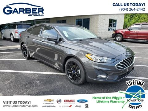 New 2019 Ford Fusion SE, Navigation, Black Wheels