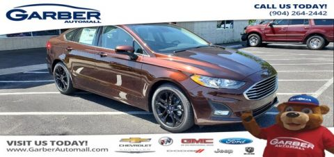 New 2019 Ford Fusion SE FWD Sedan