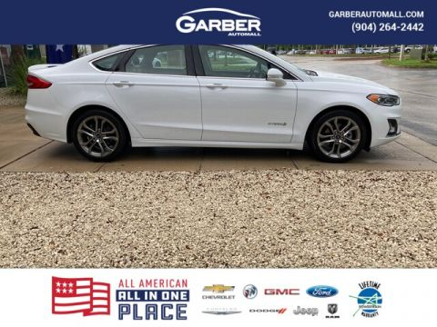 2019 Ford Fusion Hybrid Titanium With Navigation