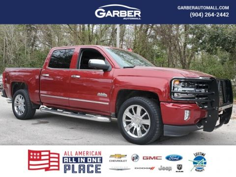 2018 Chevrolet Silverado 1500 High Country With Navigation & 4WD