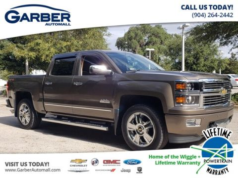 2015 Chevrolet Silverado 1500 High Country With Navigation & 4WD