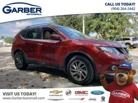 Pre-Owned 2015 Nissan Rogue SL w/Navigation Sunroof