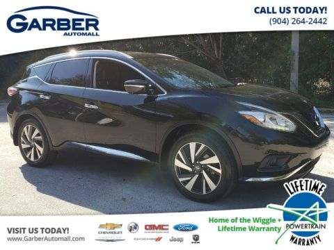 2015 Nissan Murano Platinum With Navigation