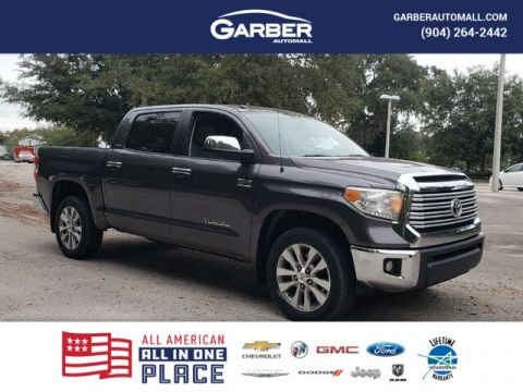 Pre-Owned 2014 Toyota Tundra Limited 5.7L V8 w/FFV With Navigation & 4WD