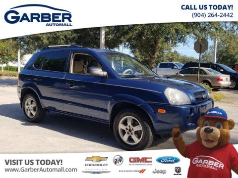 pre-owned 2007 hyundai tucson gls suv in green cove springs