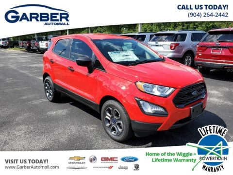 New 2019 Ford EcoSport S model 100A FWD