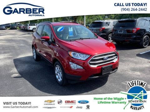 2019 Ford EcoSport SE, 200A, Moonroof, Push Button Start