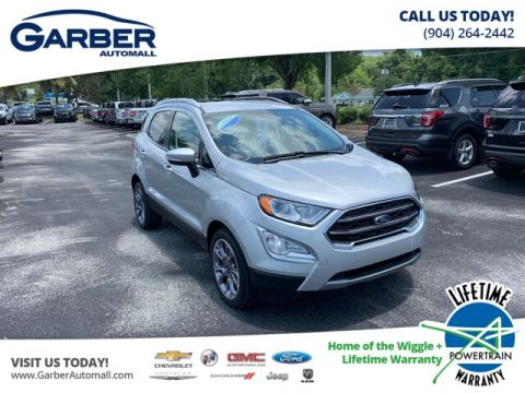 2019 Ford EcoSport Titanium, 400A, Blindspot, Moonroof With Navigation