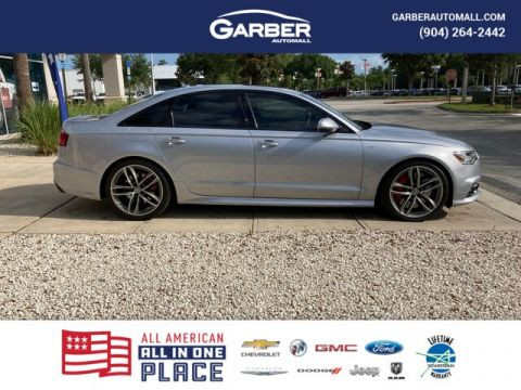 2017 Audi S6 4.0T Premium Plus With Navigation & AWD
