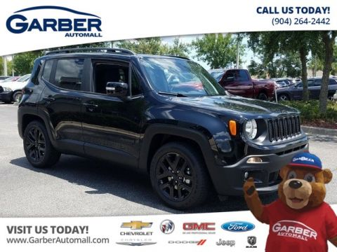 New 2018 Jeep Renegade Altitude FWD w/ Navigation