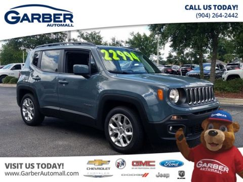 New 2018 Jeep Renegade Latitude FWD w/ Navigation