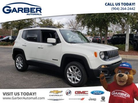 New 2018 Jeep Renegade Latitude 4x4 w/ My Sky Sunroof & Navigation
