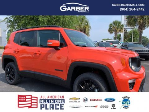 2019 Jeep Renegade Latitude 4x4 My Sky Power Roof, Tow Group 4WD