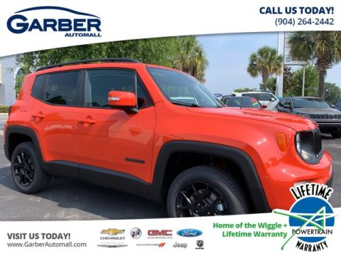 New 2019 Jeep Renegade Latitude 4x4 My Sky Power Roof, Tow Group