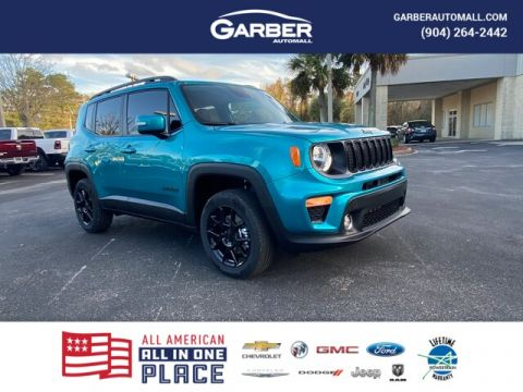 New 2020 Jeep Renegade Latitude 4x4, Navi, loaded With Navigation & 4WD