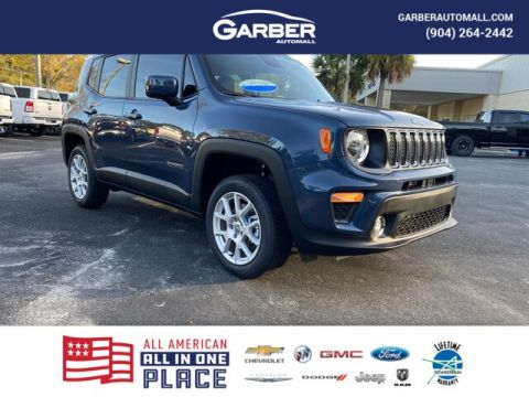 "New 2020 Jeep Renegade Latitude 4x4, 8.4 Navigation"" With Navigation & 4WD"
