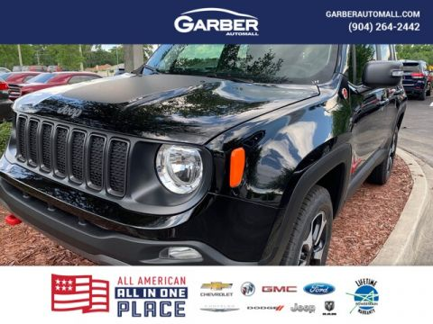 2019 Jeep Renegade Trailhawk 4x4, Dual Power Roof,Navi With Navigation & 4WD