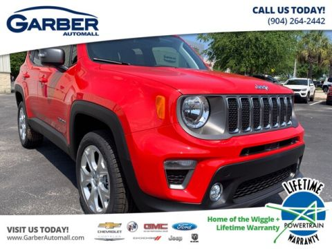 New 2019 Jeep Renegade Limited Uconnect 8.4 Navigation, Leather Seats